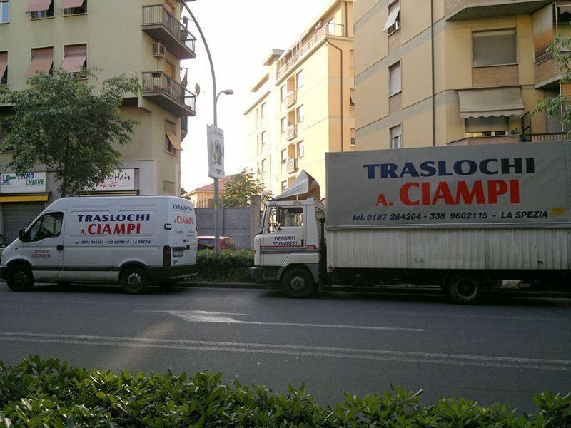 Deposito e custodia mobili traslochi A. Ciampi La Spezia