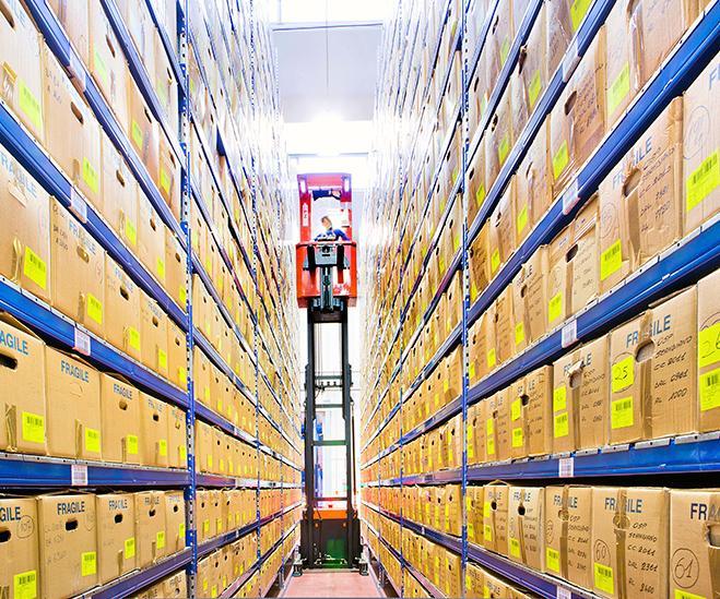 logistica gestione magazzino