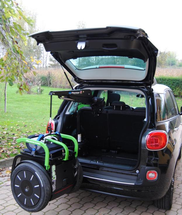 Allestimento veicoli per disabili tamburini