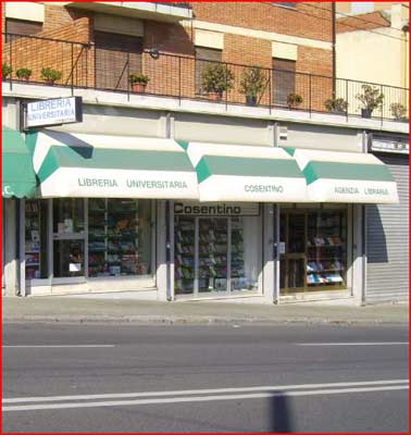 Libreria universitaria cosentino cagliari 14 16 v is for Libreria universitaria