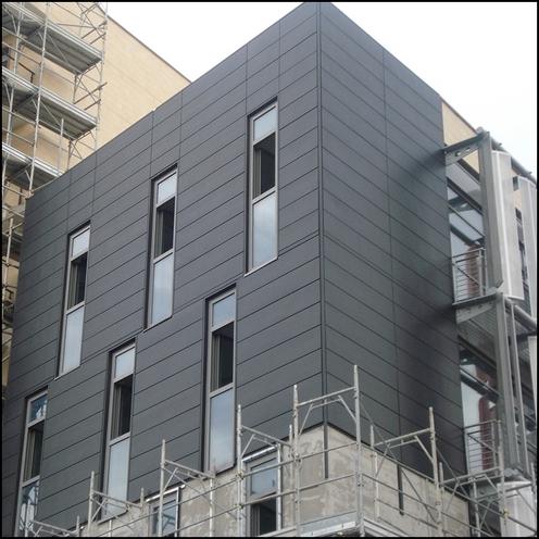 Rivestimenti pareti edifici