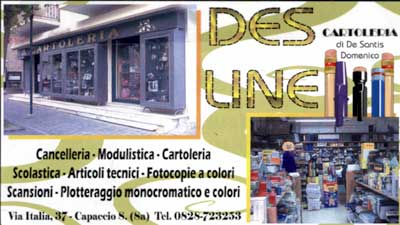 Des Line Cartoleria - Centro Copie Digitali