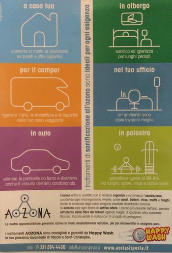 SANIFICAZIONE OZONO AUTO E AMBIENTI