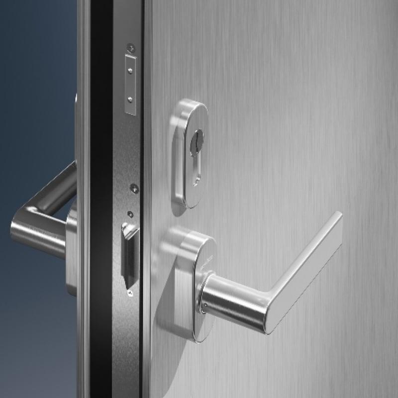Porte in alluminio schüco