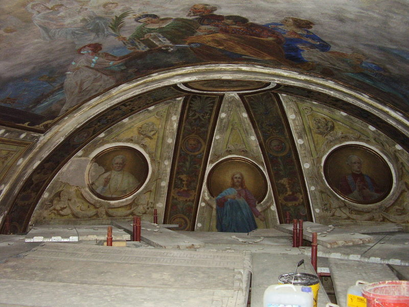 Chiesa S.Nicolò - Alessandria-restauri