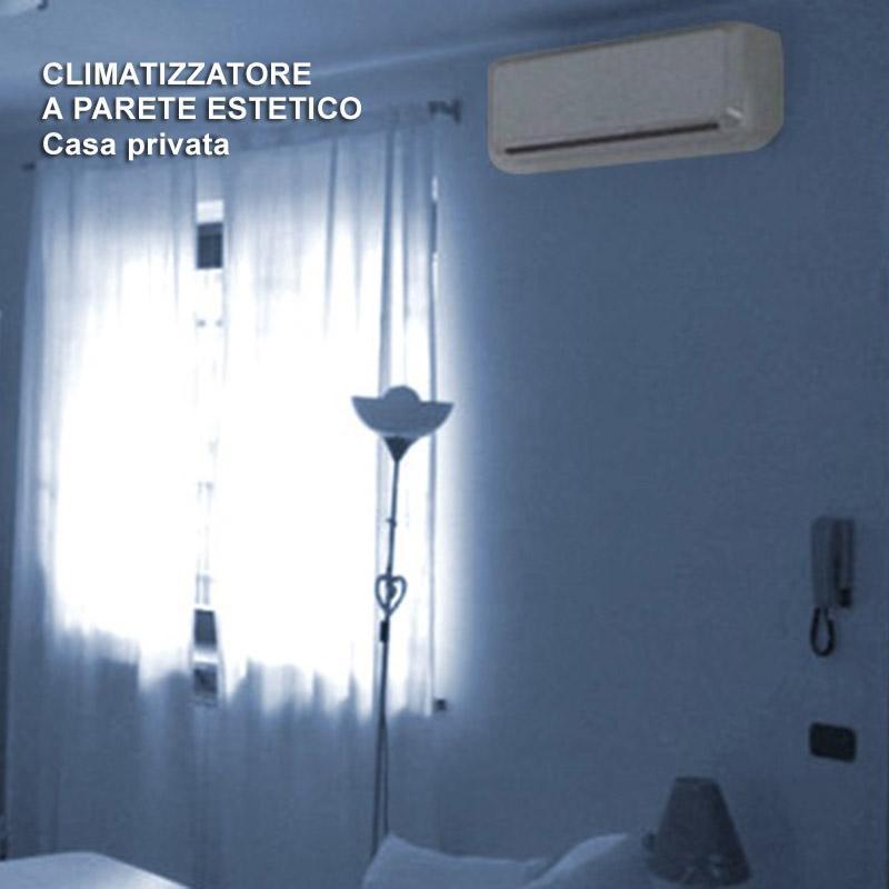Climatizzatore parete casa estetico