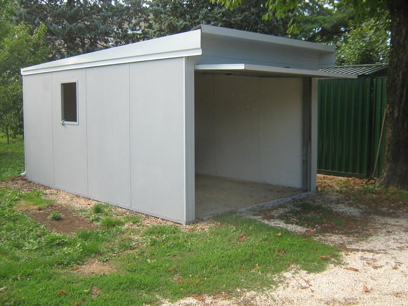 Preventivo per eurobox box auto prefabbricati e casette - Garage prefabbricati in legno ...