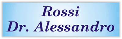 Rossi Dr. Alessandro