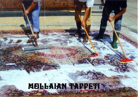 Tappeti persiani ed orientali mollaian tappeti orientali - Lavaggio tappeti in casa ...