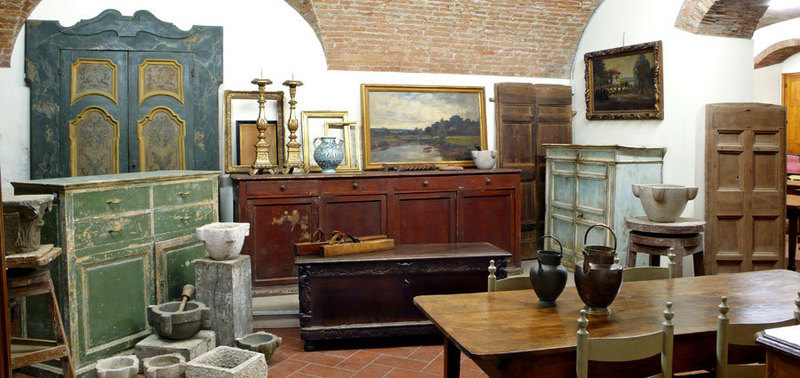 Preventivo per antichita 39 margheri giuseppe firenze for Arredamento d antiquariato