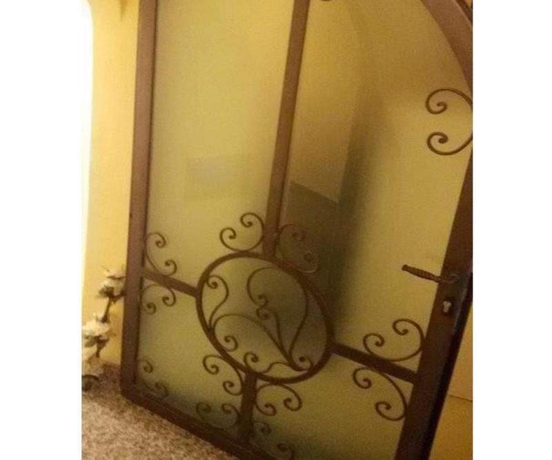 porte artistiche di ferro a Camporosso (Imperia)