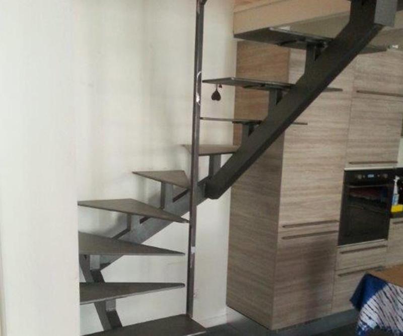 scale di ferro a Camporosso (Imperia)