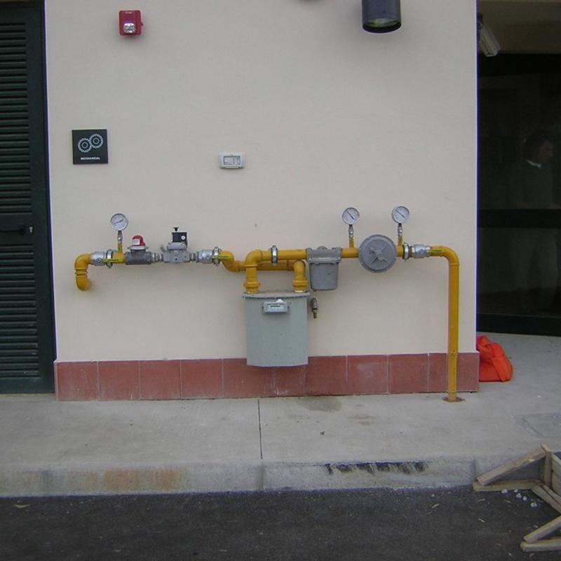 impianto gas