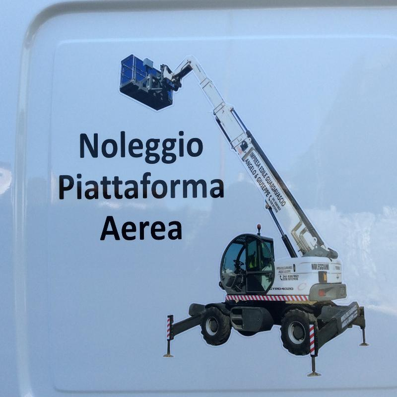 NOLEGGIO PIATTAFORMA AEREA