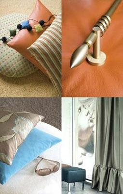 Cuscini e tende