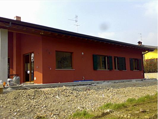 Formazione di Edificio unifamiliare con struttura in legno