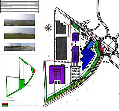 Piano Lottizzazione zona industriale a Mornico al Serio