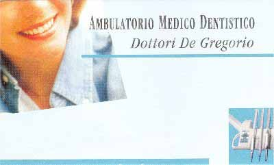 Ambulatorio Dentistico Dottori De Gregorio