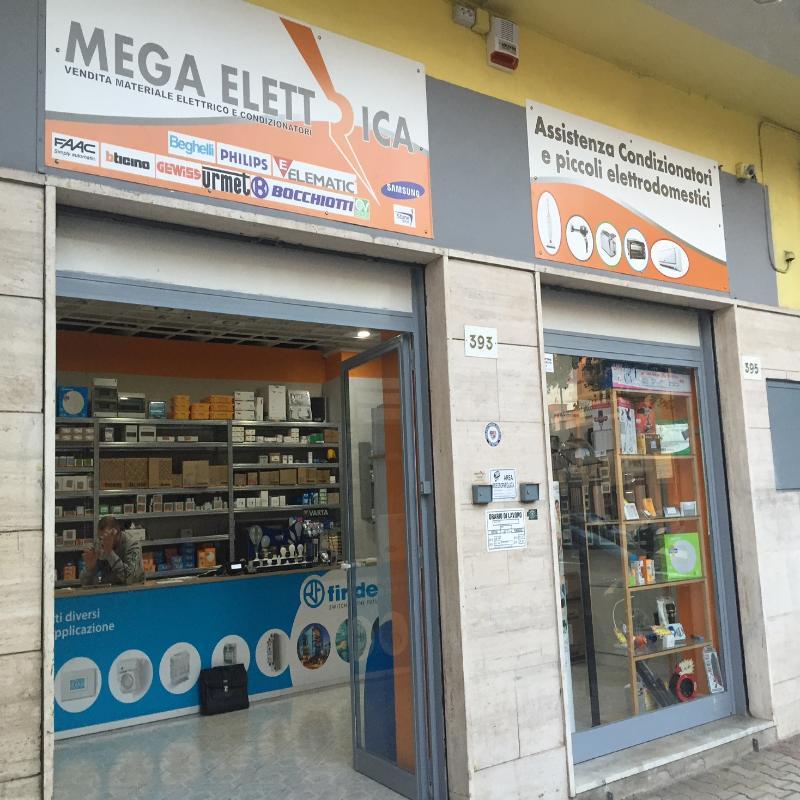 MEGA ELETTRICA - DISTRIBUZIONE MATERIALE ELETTRICO - Napoli (NA)