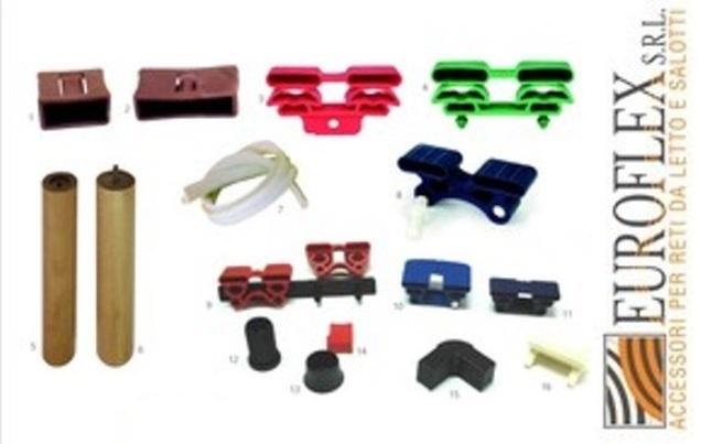 Accessori colorati per reti da letto