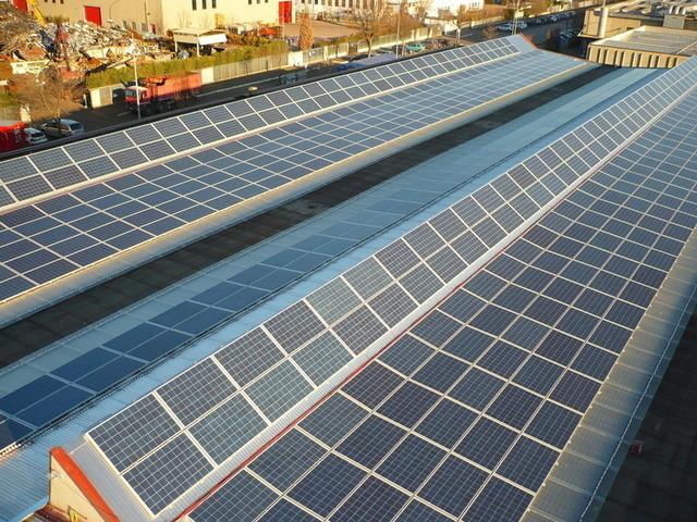 Panoramica su fotovoltaico