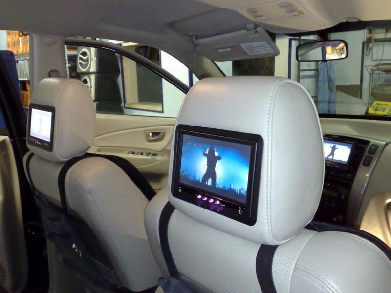 Installazione monitor in auto, installazione monitor, Rieti