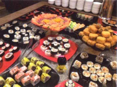 Ristorante Acanto Cucine dal Mondo , Wok , Sushi