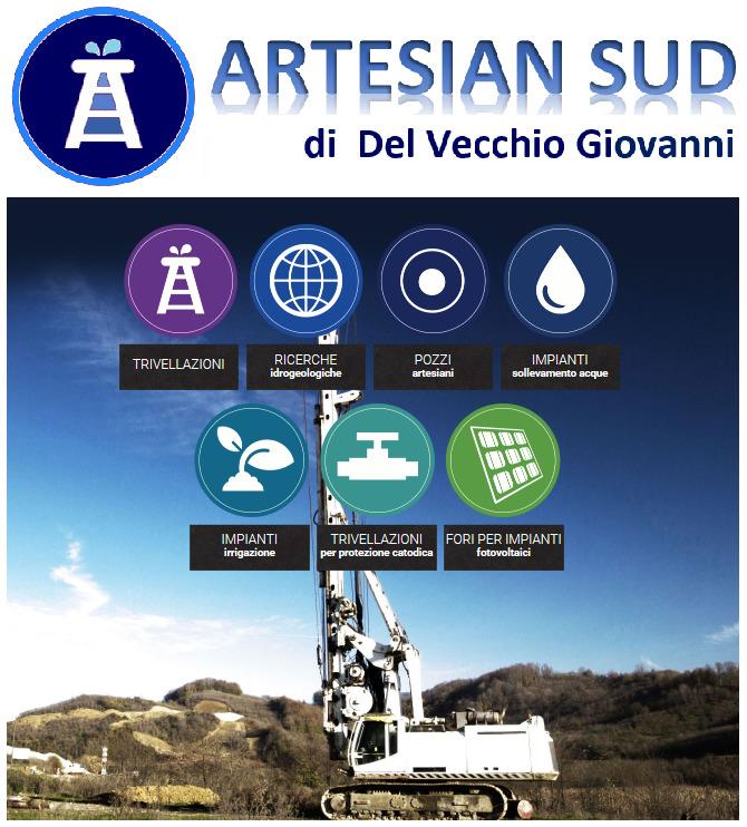 Artesian sud pozzi artesiani - Del Vecchio Giovanni