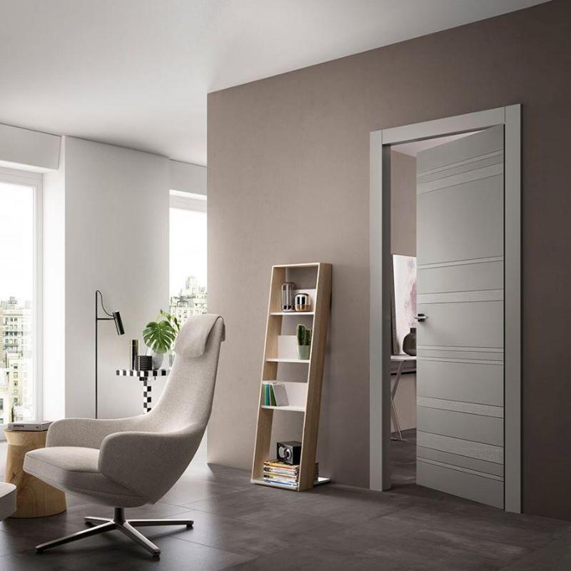 Porta per interni a battente in legno Oknoplast