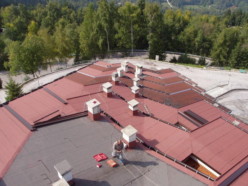Lattonerie su edifici civili o industriali