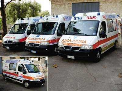 Ambulanze Getras