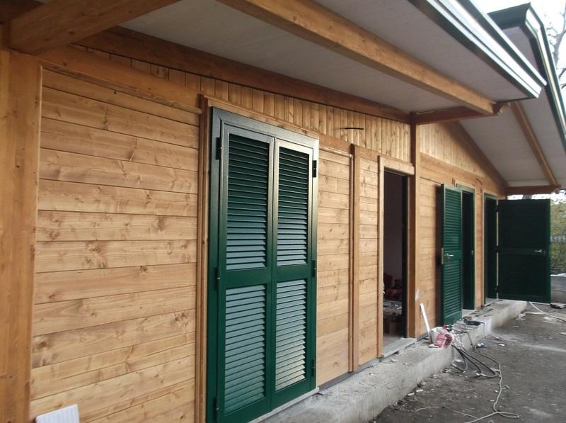 Case abitative in legno