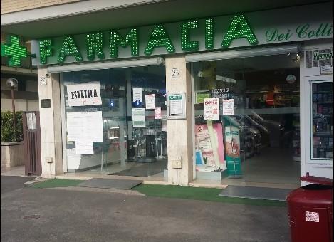 Farmacia dei colli roma piazzale eugenio morelli 23 24 for Marano arredamenti roma