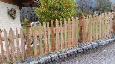 recinzione in legno naturale - Garden Center Bernardi