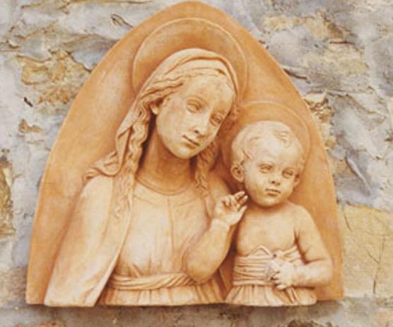 ANTICA FORNACE M.I.T.A.L. Madonna con Bambino (alto rilievo)