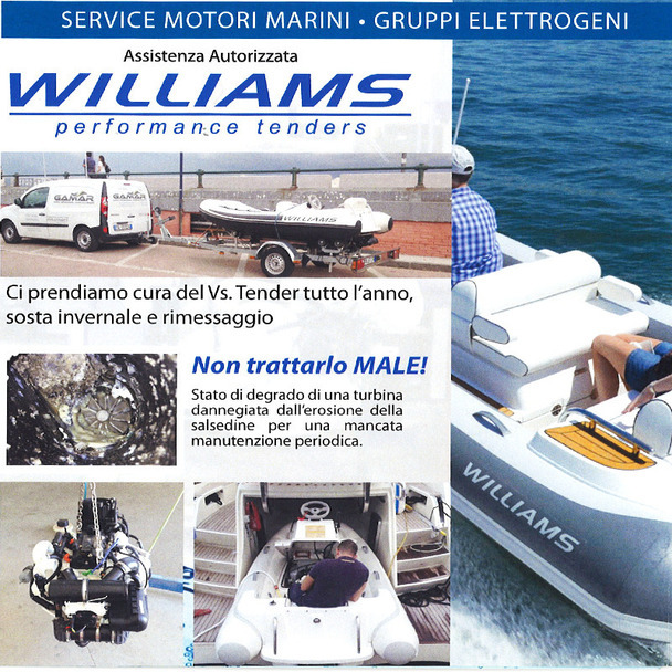 assistenza Williams Tenders