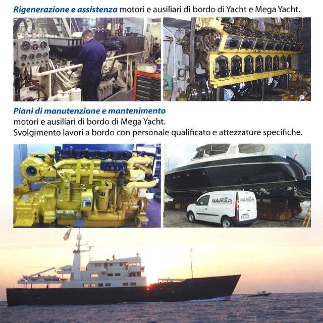 manutenzioni motori marini