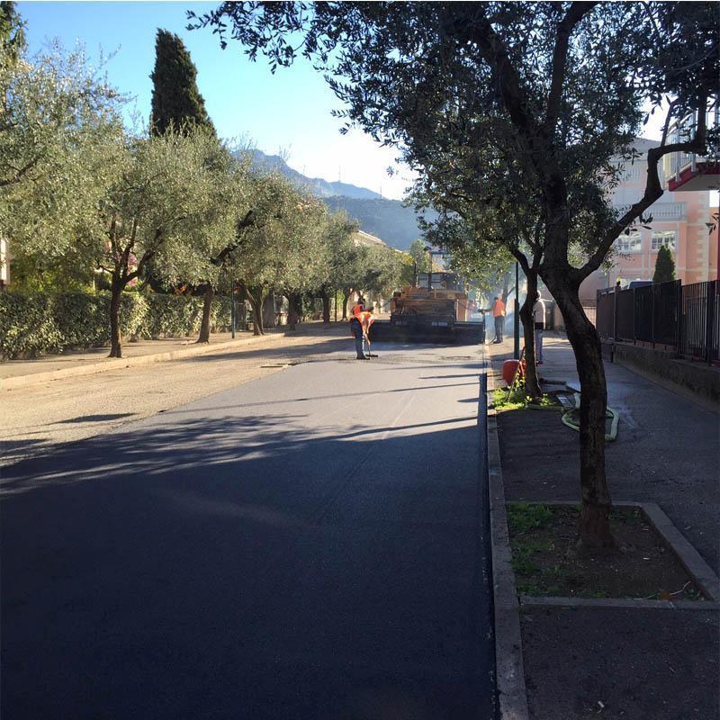 asfalto e bitume per strade