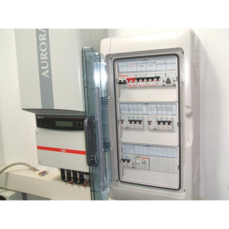 inverter e quadro elettrico