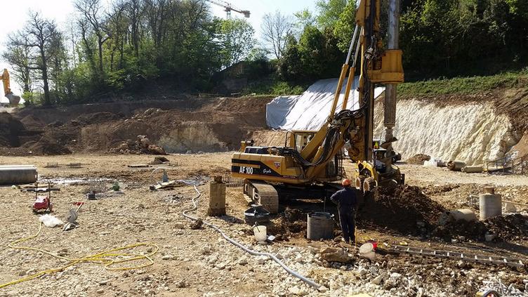 Perforazione pali di fondazione