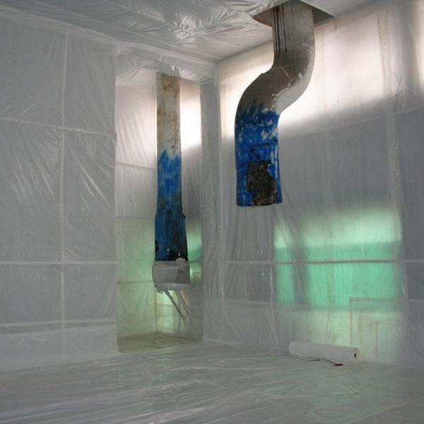 Bonifica e smantellamento strutture di amianto
