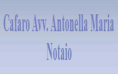 Cafaro avv. Antonella Maria