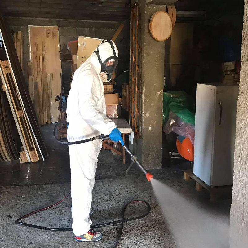 pulizia e disinfestazioni industriali e civili