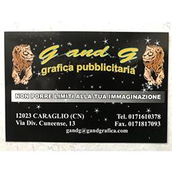G And G Pubblicita' - Pubblicita' - insegne, cartelli e targhe Caraglio