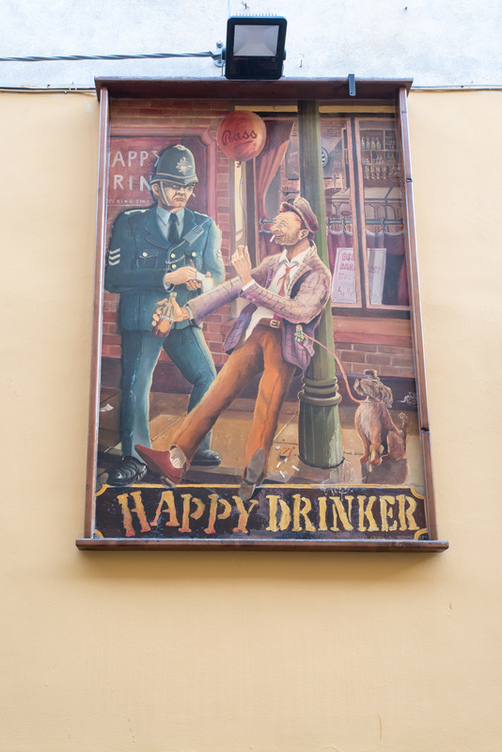 Happy Drinker By The Brewmaster Birreria Pisa