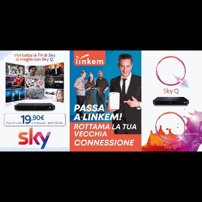 Elektro Net Sky Linkem - Televisori, videoregistratori e radio - riparazione Nola