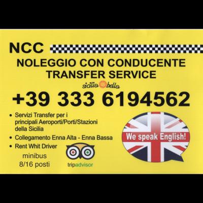 Sicilia  Bella Ncc Taxi - Taxi Enna