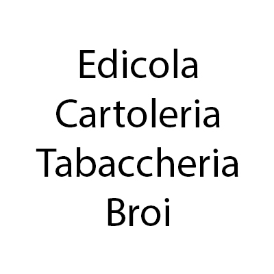 Edicola Cartoleria Tabaccheria Broi - Giornalai Belluno