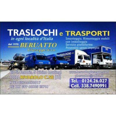 Traslochi Beruatto Giuseppe