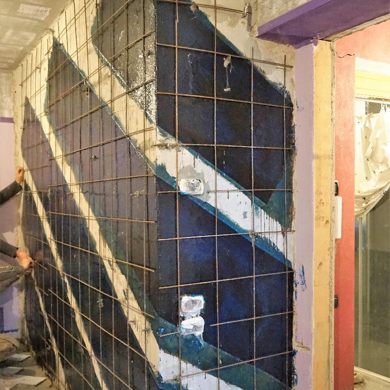Consolidamento muratura portante
